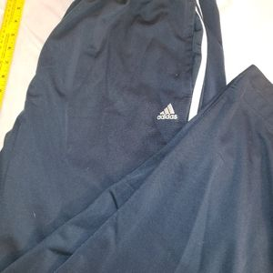 Adidas sz. Large navy blue athletic pants